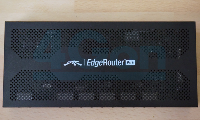 EdgeRouter PoE Top View