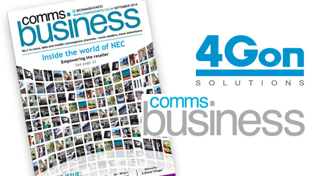 4Gon Discuss 4G - A UK Network State of Play Update with Comms Business Magazine